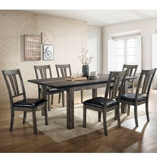 Sanda 7 Piece Dining Set by Union Rustic Discount