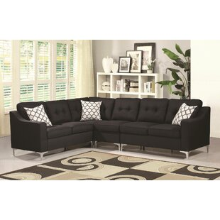 Ivy Bronx Bairdstown Tufted Sectional