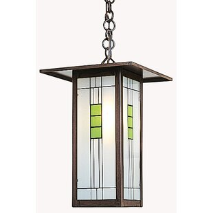 Affordable Price Franklin 1-Light Outdoor Pendant By Arroyo Craftsman