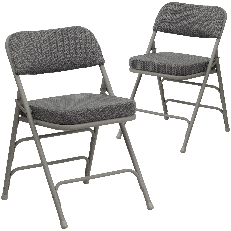 Symple Stuff Laduke Fabric Padded Folding Chair Reviews Wayfair