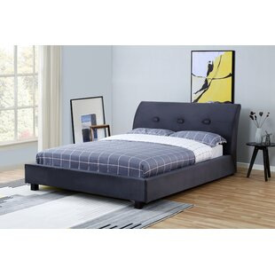 Isaurus Upholstered Storage Sleigh Bed by Wrought Studio