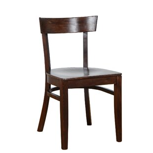 Benkel Seating Quinto Solid Wood Dining Chair (Set of 2)