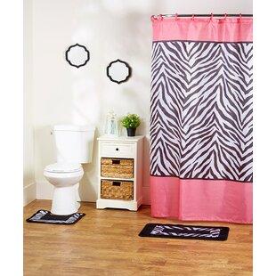 Compare prices Rosella 15-Piece Shower Curtain Set ByEbern Designs