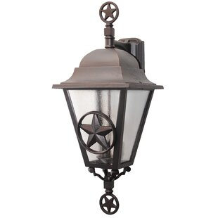 Great Price Penfield 3-Light Outdoor Wall Lantern By Alcott Hill