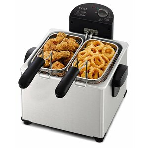 4 Liter Dual Basket Deep Fryer