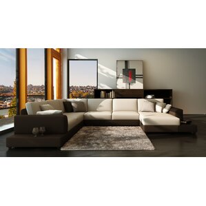Baxton Sectional by Hokku Designs