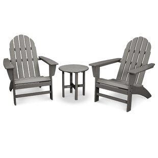 Vineyard 3 Piece Conversation Set by POLYWOOD® Sale
