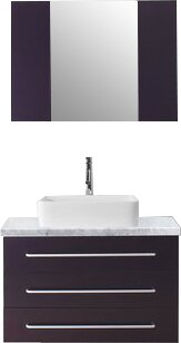 Modern Contemporary Ultra Modern Bathroom Vanity AllModern - Ultra modern bathroom vanities