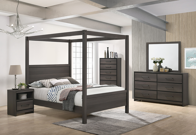 Foundry Select Sharma Canopy Configurable Bedroom Set Reviews Wayfair