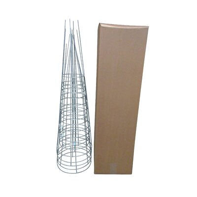 Plant Support Glamos Wire Size: 54 H x 16 W x 16 D, Color: Galvanized