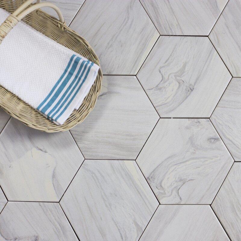 superior hexagonal tile youu0027ll love wayfair