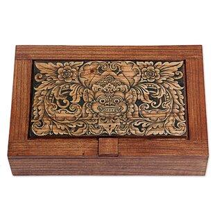 Best Reviews Bhoma Treasure Wood Jewelry Box ByBloomsbury Market