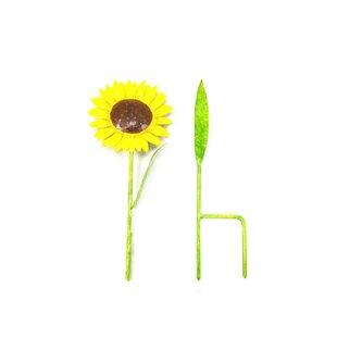 Hosier Sunflower Garden Stake By Sol 72 Outdoor