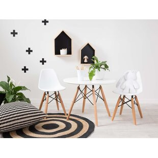 Sabastian Kids 3 Piece Round Table and Chair Set by Brayden Studio
