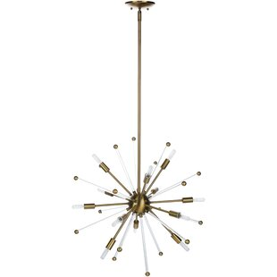 Ivy Bronx Backer Modern 12-Light Sputnik Chandelier