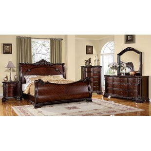 Fussell Sleigh Configurable Bedroom Set by Astoria Grand Great Reviews