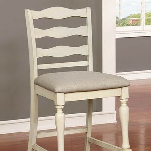 Ford 24.75 Bar Stool (Set of 2) by Rosecliff Heights