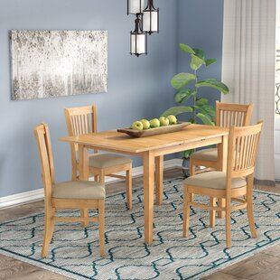 Phoenixville 5 Piece Dining Set by Three Posts