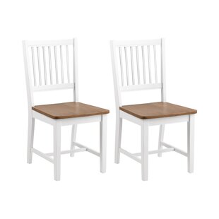 Honaker Upholstered Dining Chair (Set Of 2) By Beachcrest Home
