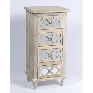 Amanda 4 Drawer Accent Chest by Ophelia & Co.