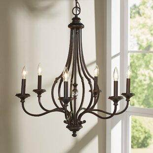 Darby Home Co Jaclyn 6-Light Chandelier