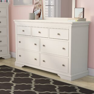 Price comparison Stovall 7 Drawer Dresser by Harriet Bee Reviews (2019) & Buyer's Guide