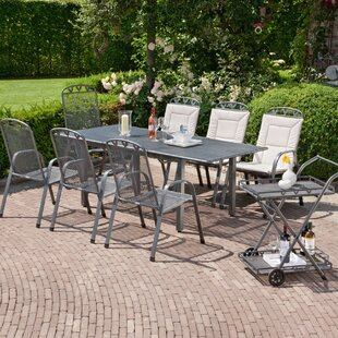 Toulouse 7 Seater Dining Set By GreemotionUK
