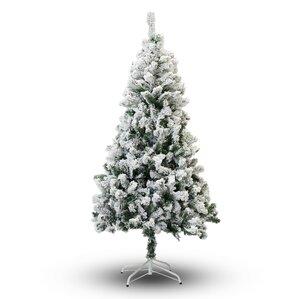 Flocked Christmas Trees You'll Love | Wayfair