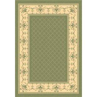 Order Beasley Olive/Natural Indoor/Outdoor Area Rug :Affordable Price