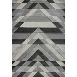 Check Prices Ramage Black/Gray Area Rug By Orren Ellis