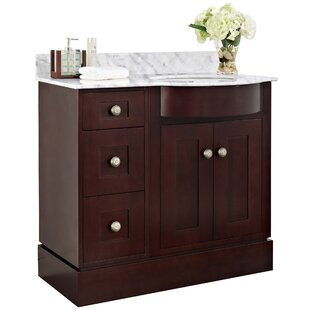 Kester Transitional 36 Wood Bathroom Vanity by Darby Home Co