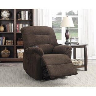 Carnahan Irresistible Power Recliner with Supreme Comfort Red Barrel Studio