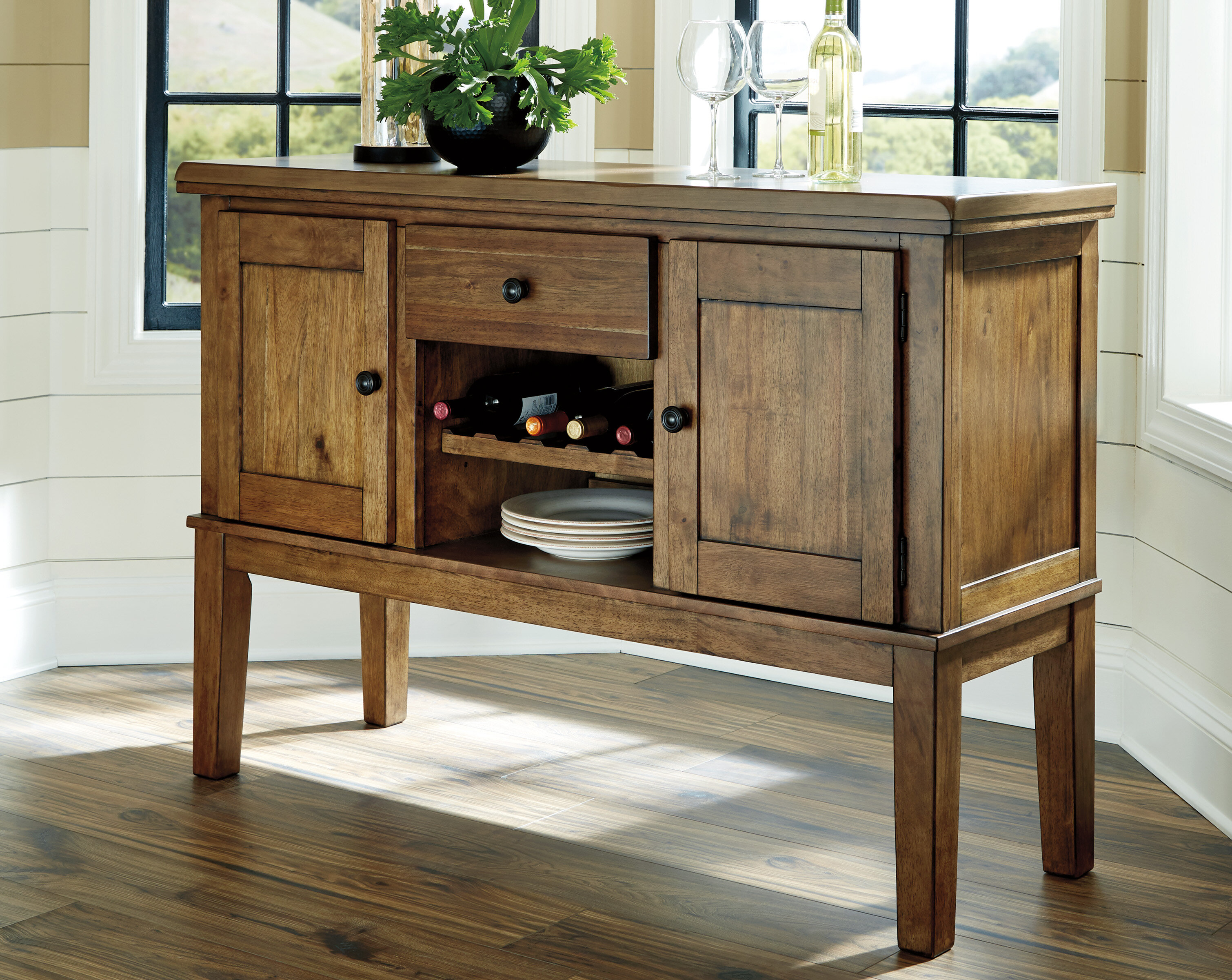 Millwood Pines Fia Dining Room Buffet Table Reviews