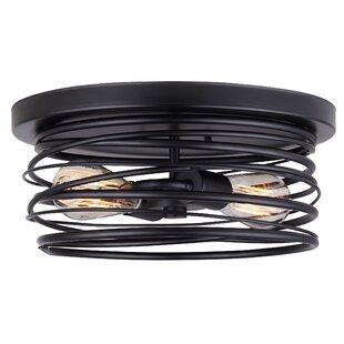 Alvera 2-Light Flush Mount..