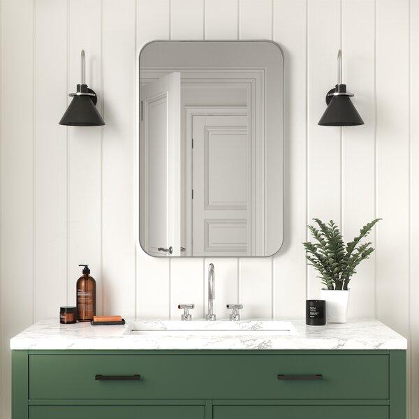 Silver Framed Bathroom Mirror Wayfair