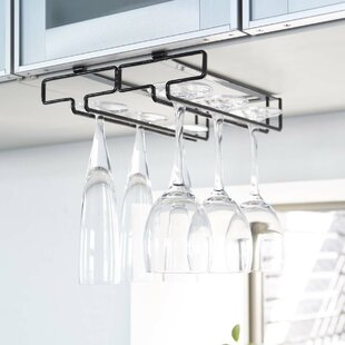 Canel Hanging Wine Glass Rack by Rebrilli..
