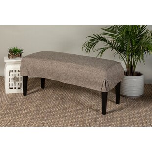 Wondrous Box Cushion Bench Slipcover Gmtry Best Dining Table And Chair Ideas Images Gmtryco