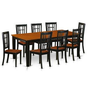 Pilger 9 Piece Dining Set August Grove