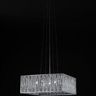 Orren Ellis Kadyn 5-Light Crystal Chandelier