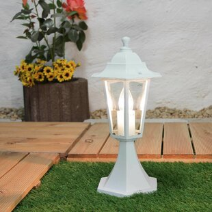 Lucy 1-Light Pedestal Light By Marlow Home Co.