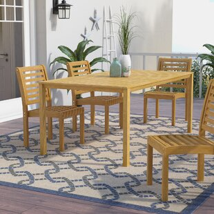 Myres Dining Table by Beachcrest Home Wonderful