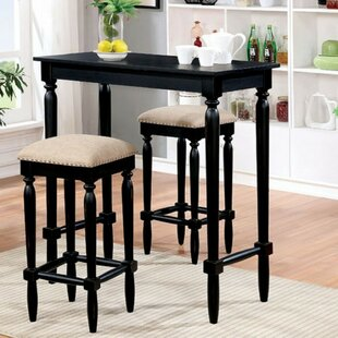 Escalante Wooden 3 Piece Pub Table Set (Set of 3) DarHome Co