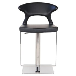 Hugo Hydraulic Adjustable Height Bar Stool