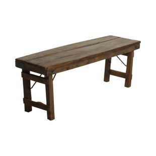 Julien Wood Bench By Williston Forge