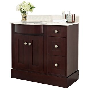 Kester Transitional 36 Multi-layer Stain Single Bathroom Vanity Set by Darby Home Co