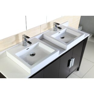 60 Double Sink Vanity by Bellaterra Home