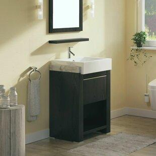 24 Single Bathroom Vanity Set by Bellaterra Home
