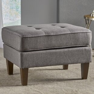 Vanhorn Ottoman by Ebern Designs