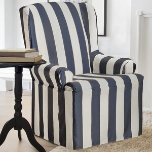 Havanna T-Cushion Wingback Slipcover
