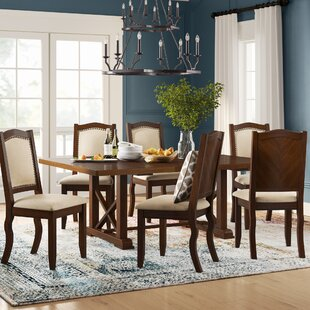 Chevaliers 7 Piece Dining Set by Birch Lane™ Heritage Best Choices